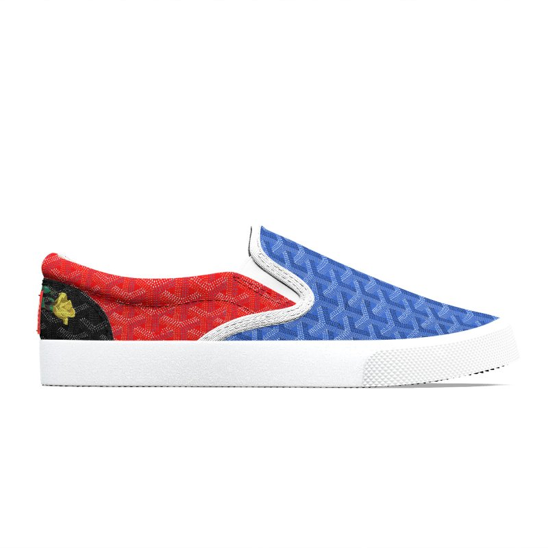 Jardin Goyard (Spectrum) Men's Shoes by FWMJ's Shop