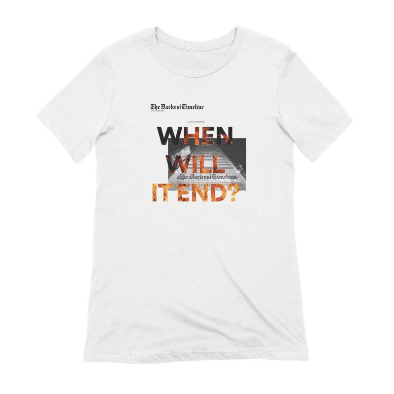 The Darkest Timeline (Read All About It) Women's T-Shirt by FWMJ's Shop