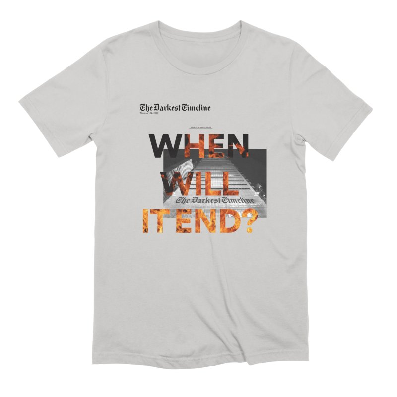 The Darkest Timeline (Read All About It) Men's T-Shirt by FWMJ's Shop