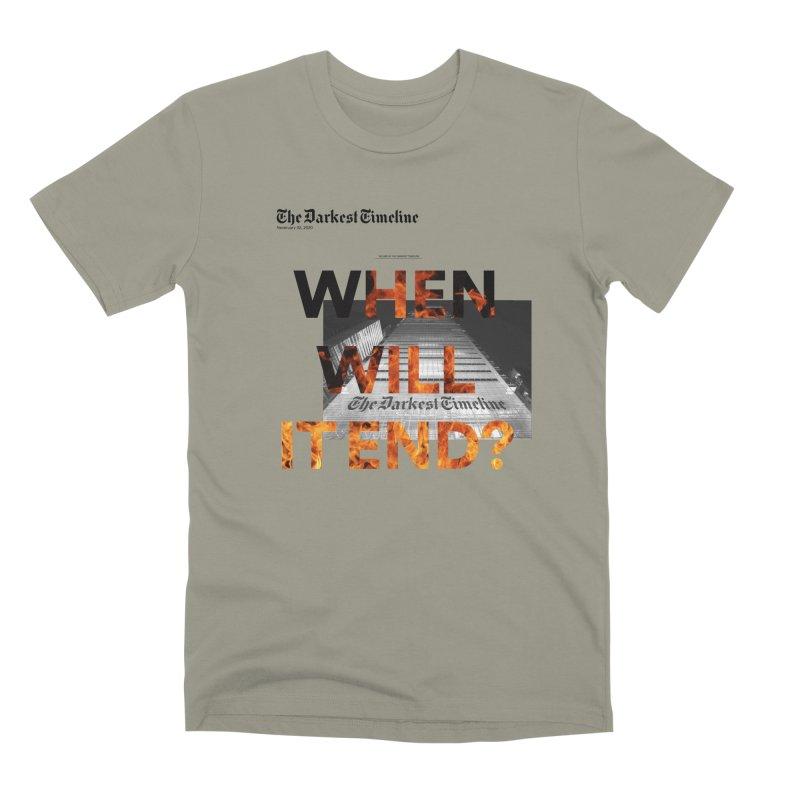The Darkest Timeline (Read All About It) Men's Premium T-Shirt by FWMJ's Shop