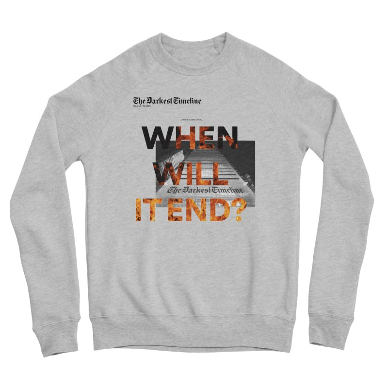 The Darkest Timeline (Read All About It) Men's Sponge Fleece Sweatshirt by FWMJ's Shop