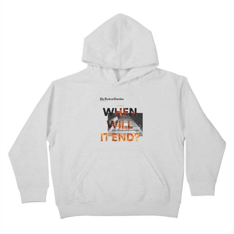 The Darkest Timeline (Read All About It) Kids Pullover Hoody by FWMJ's Shop