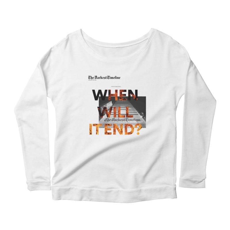 The Darkest Timeline (Read All About It) Women's Longsleeve T-Shirt by FWMJ's Shop