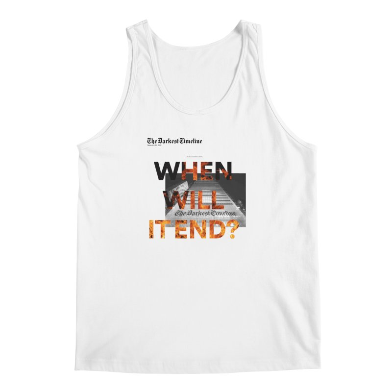 The Darkest Timeline (Read All About It) Men's Tank by FWMJ's Shop