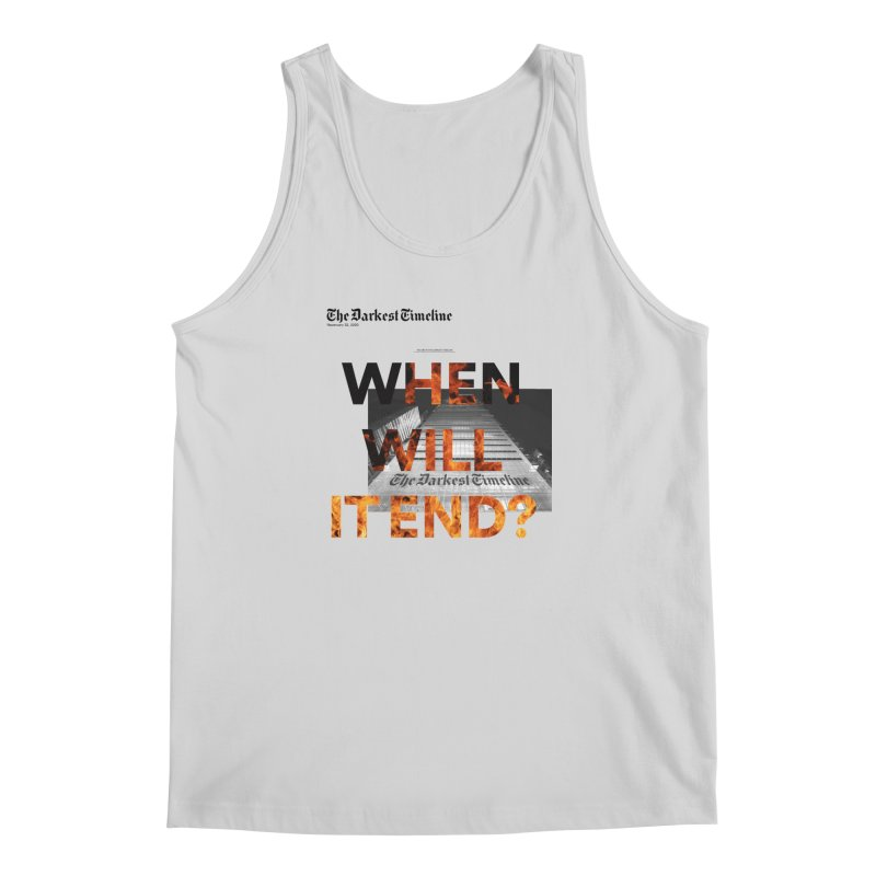 The Darkest Timeline (Read All About It) Men's Regular Tank by FWMJ's Shop