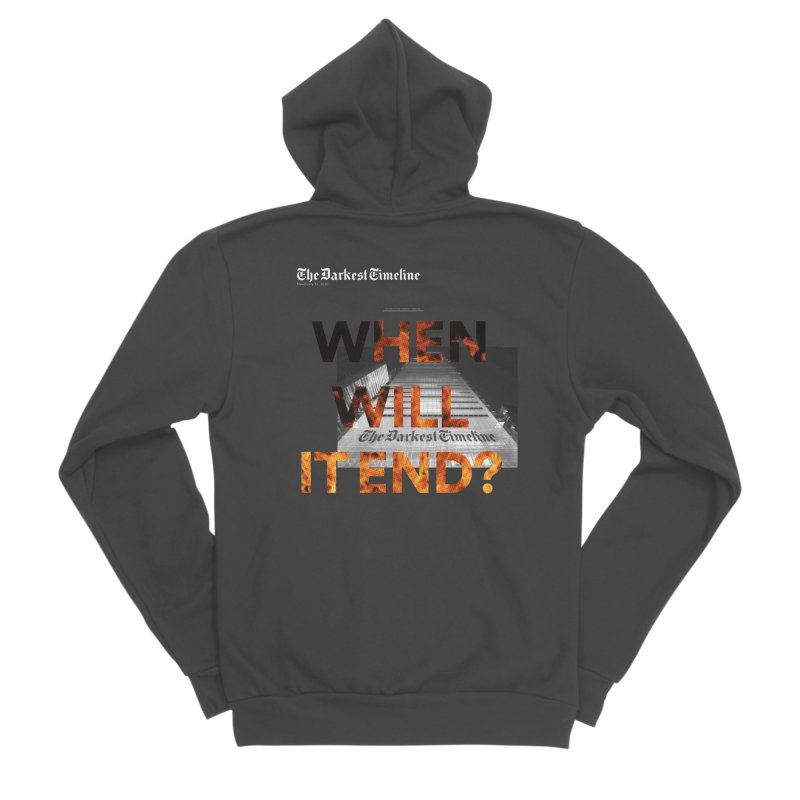 The Darkest Timeline (Read All About It) Women's Zip-Up Hoody by FWMJ's Shop