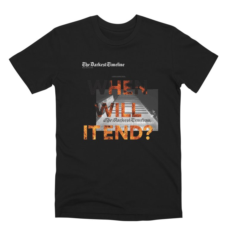 The Darkest Timeline (Read All About It) Men's Premium T-Shirt by FWMJ's Shop