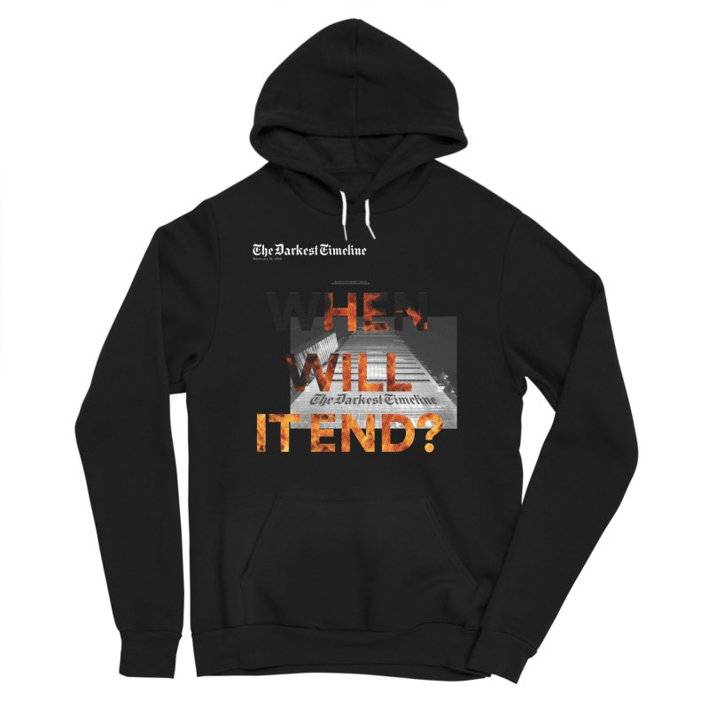 The Darkest Timeline (Read All About It) Women's Sponge Fleece Pullover Hoody by FWMJ's Shop