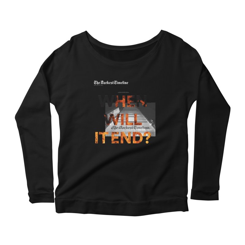 The Darkest Timeline (Read All About It) Women's Longsleeve T-Shirt by FWMJ's Shop