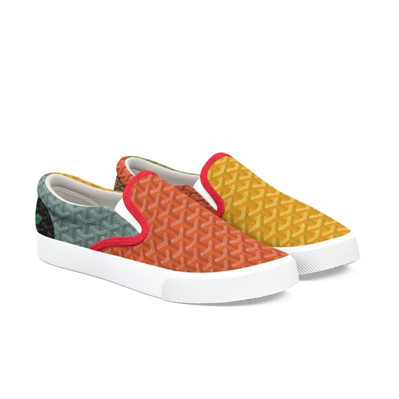 Jardin Goyard (Autumn) Men's Slip-On Shoes by FWMJ's Shop