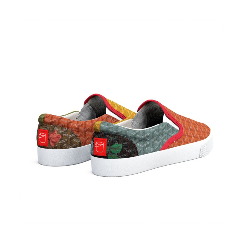 Jardin Goyard (Autumn) Men's Shoes by FWMJ's Shop