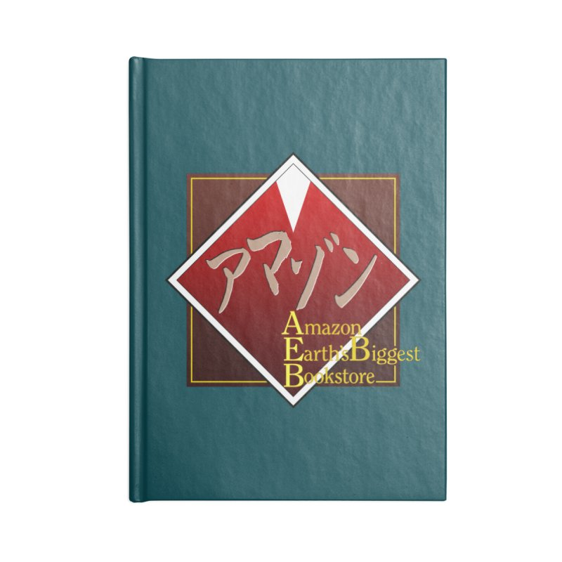 Shin-Ramazon Accessories Blank Journal Notebook by FWMJ's Shop