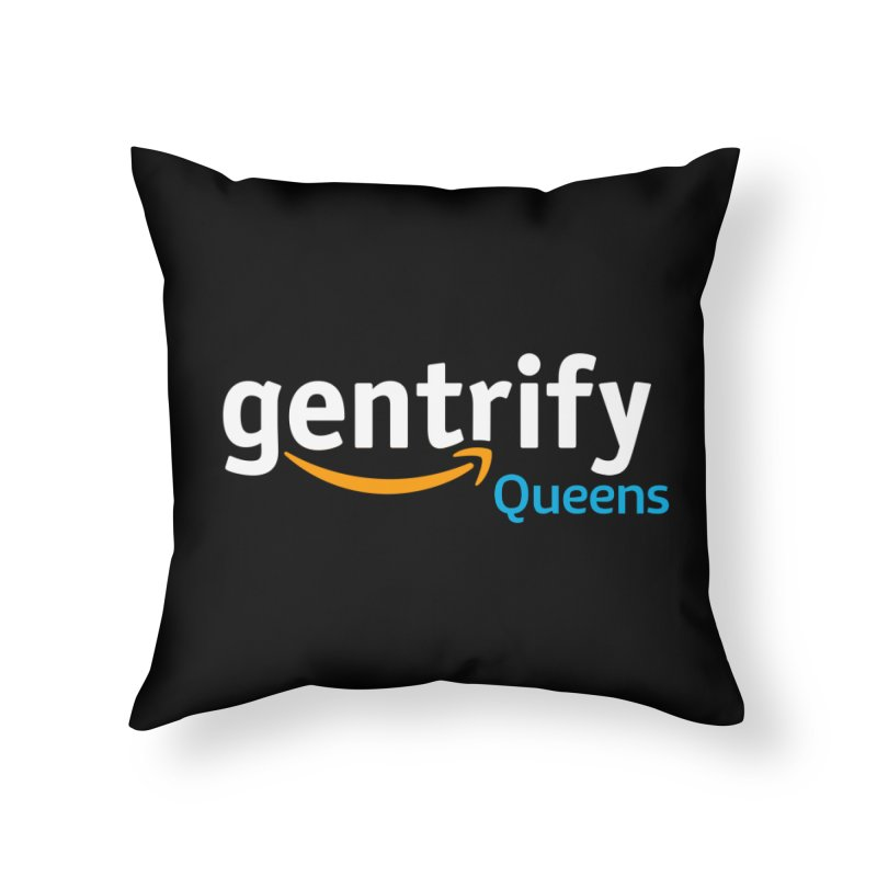Gentrify Home Throw Pillow by FWMJ's Shop