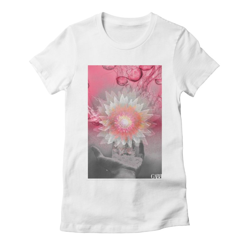 Tentacles of Desire Women's Fitted T-Shirt by GABB DESIGN