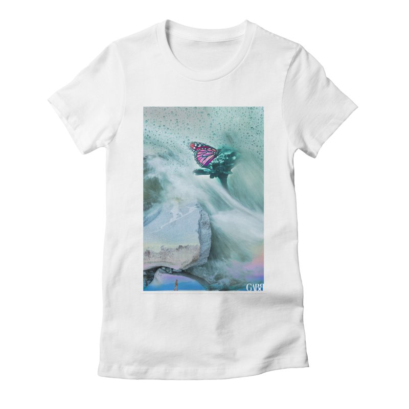 Sea of Eros Women's Fitted T-Shirt by GABB DESIGN