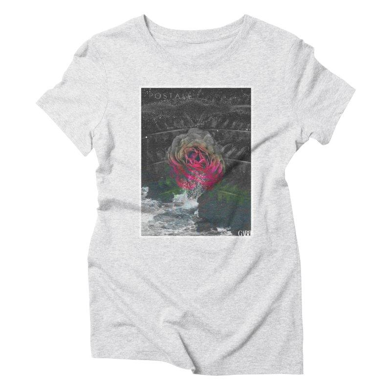 SOS Women's Triblend T-shirt by GABB DESIGN