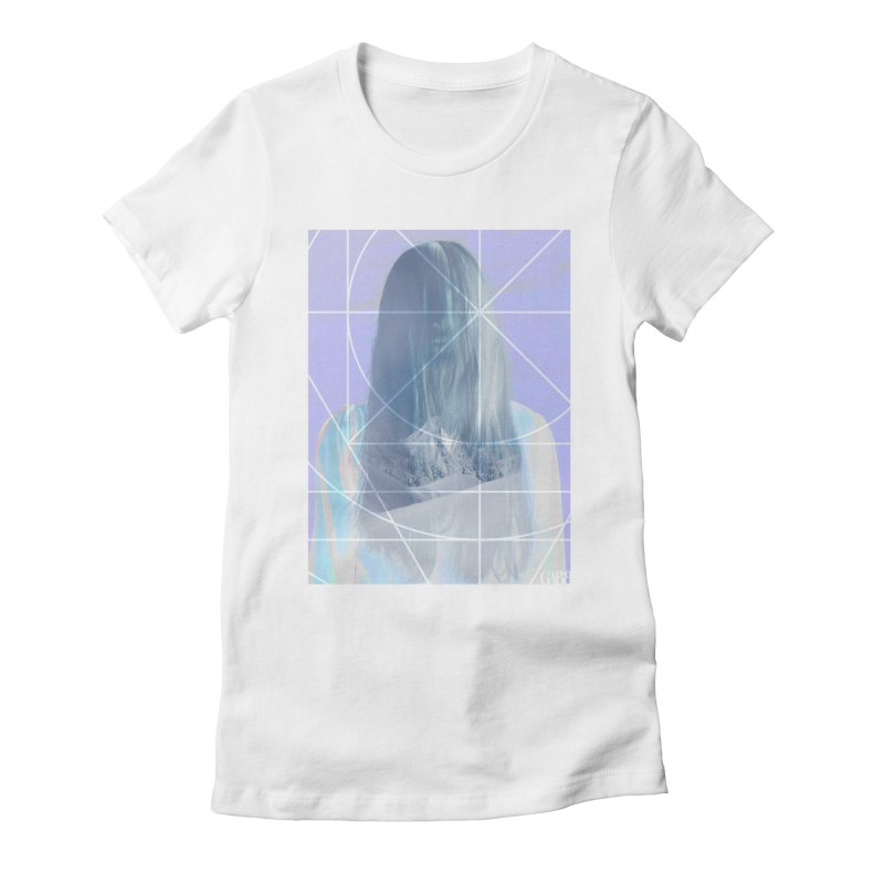 Syringa Women's Fitted T-Shirt by GABB DESIGN