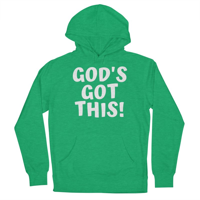 GOD'S GOT THIS Women's Pullover Hoody by Gabbyrags