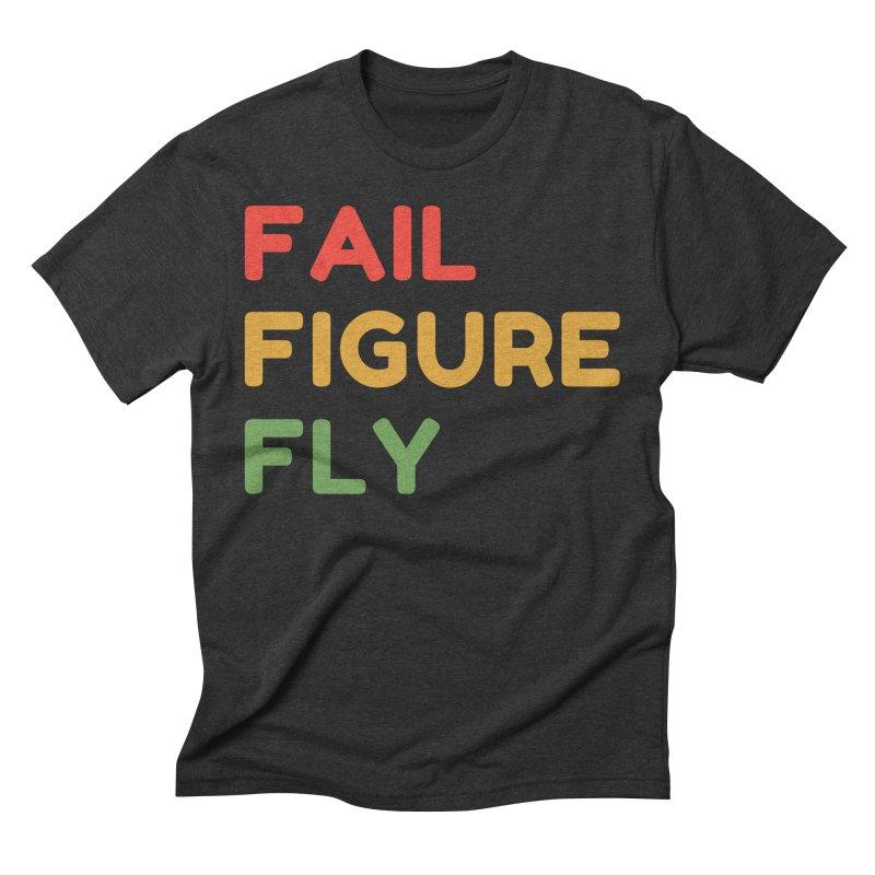 FAIL FIGURE FLY Men's T-Shirt by Gabbyrags