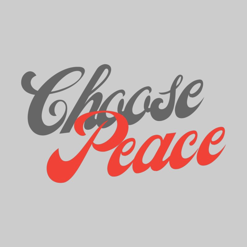 CHOOSE PEACE Women's Longsleeve T-Shirt by Gabbyrags