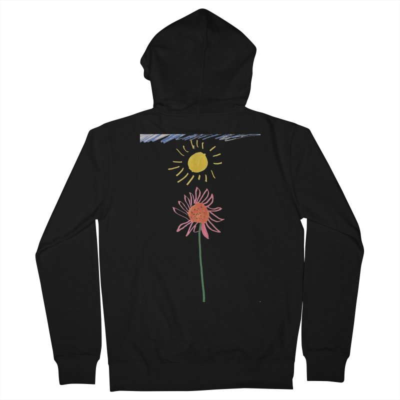 Tays - Reach For The Sky Women's French Terry Zip-Up Hoody by Gabe and Taytay Artist Shop