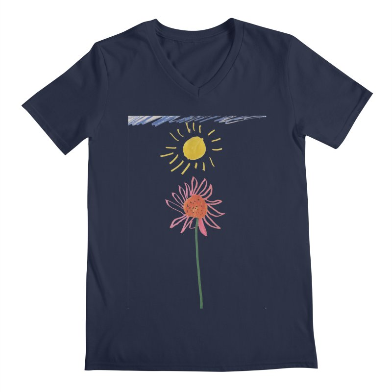 Tays - Reach For The Sky Men's V-Neck by Gabe and Taytay Artist Shop