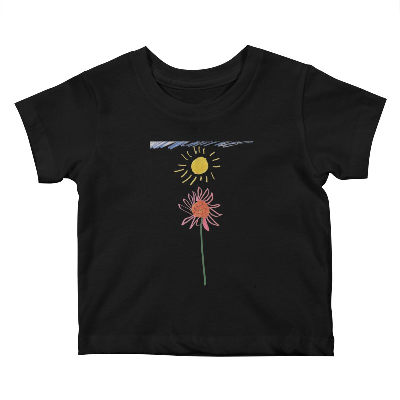 Tays - Reach For The Sky Kids Baby T-Shirt by Gabe and Taytay Artist Shop