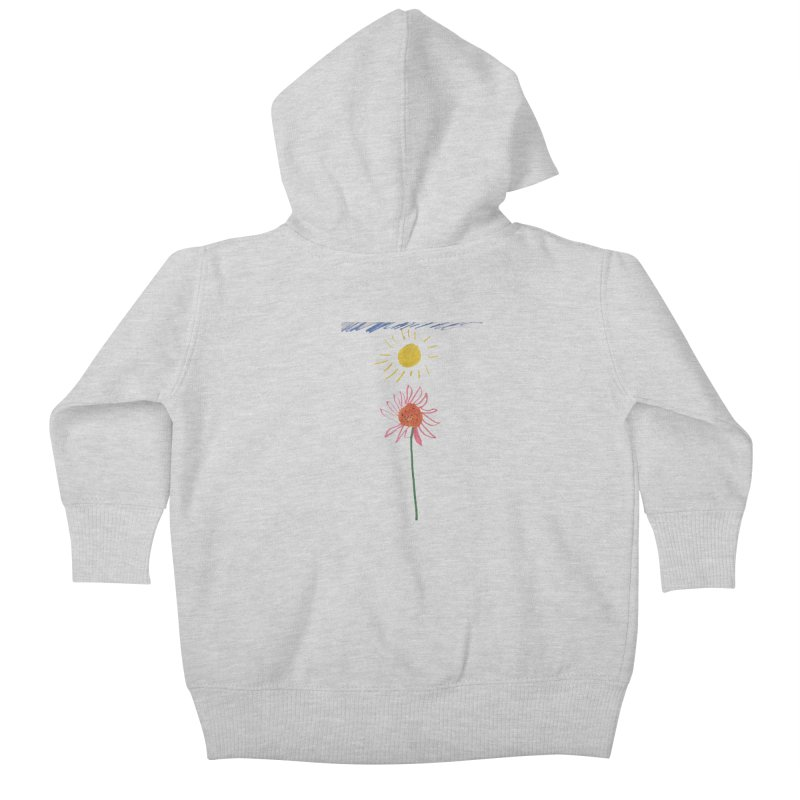 Tays - Reach For The Sky Kids Baby Zip-Up Hoody by Gabe and Taytay Artist Shop