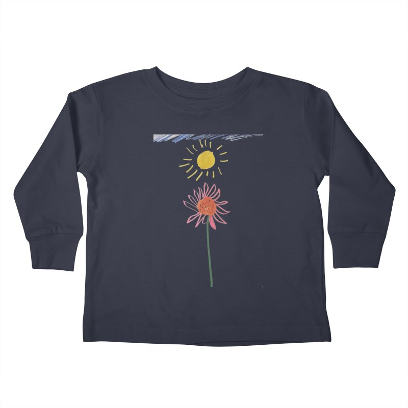 Tays - Reach For The Sky Kids Toddler Longsleeve T-Shirt by Gabe and Taytay Artist Shop