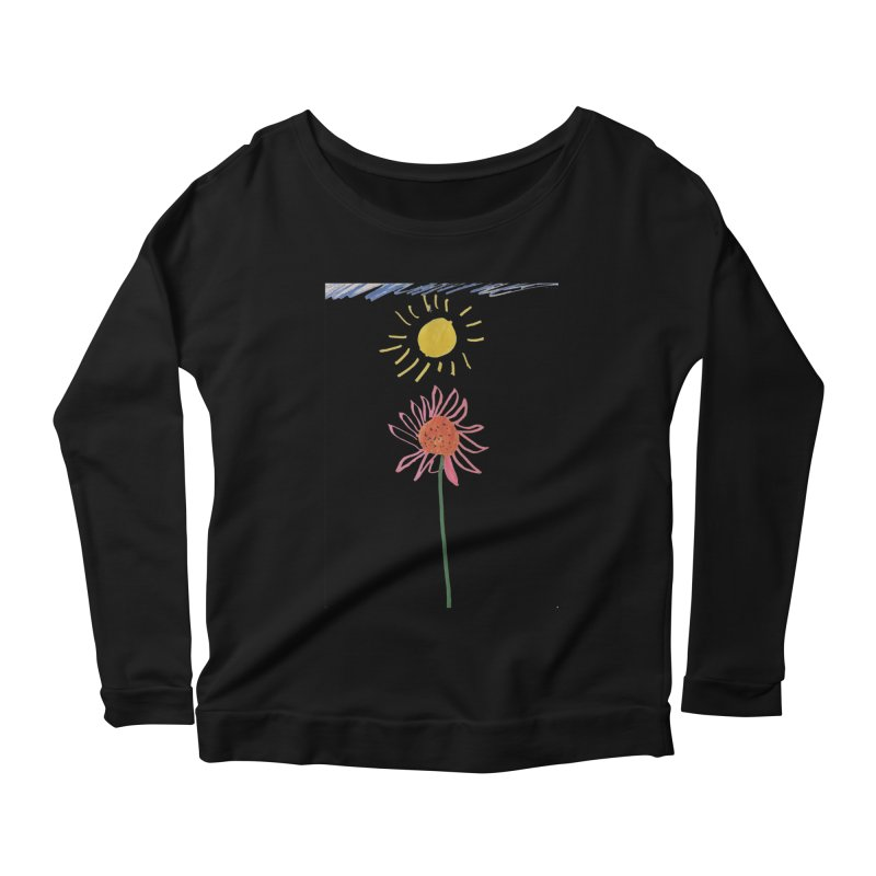 Tays - Reach For The Sky Women's Scoop Neck Longsleeve T-Shirt by Gabe and Taytay Artist Shop