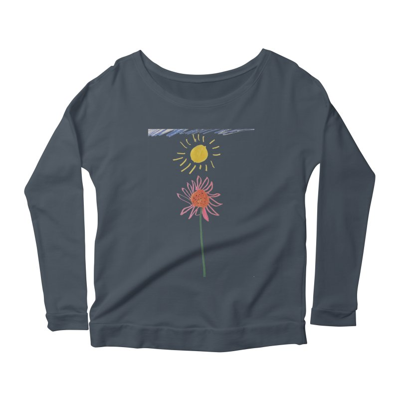 Tays - Reach For The Sky Women's Longsleeve Scoopneck  by Gabe and Taytay Artist Shop