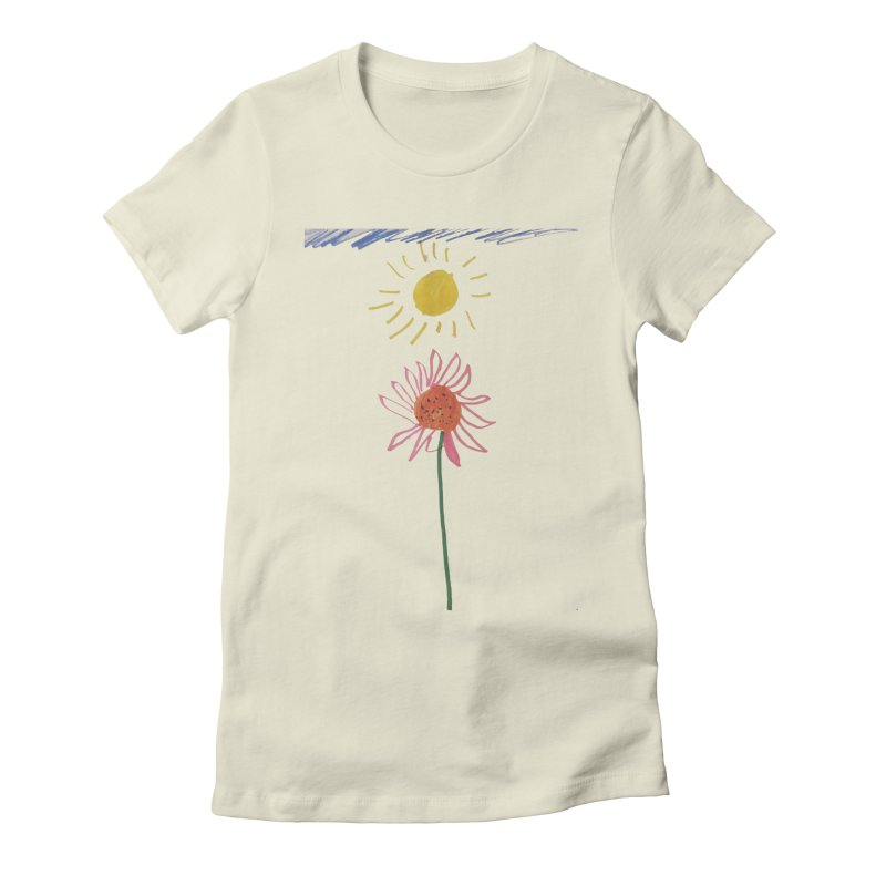 Tays - Reach For The Sky Women's Fitted T-Shirt by Gabe and Taytay Artist Shop