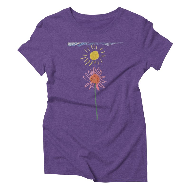 Tays - Reach For The Sky Women's Triblend T-Shirt by Gabe and Taytay Artist Shop
