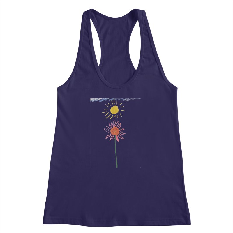 Tays - Reach For The Sky Women's Racerback Tank by Gabe and Taytay Artist Shop