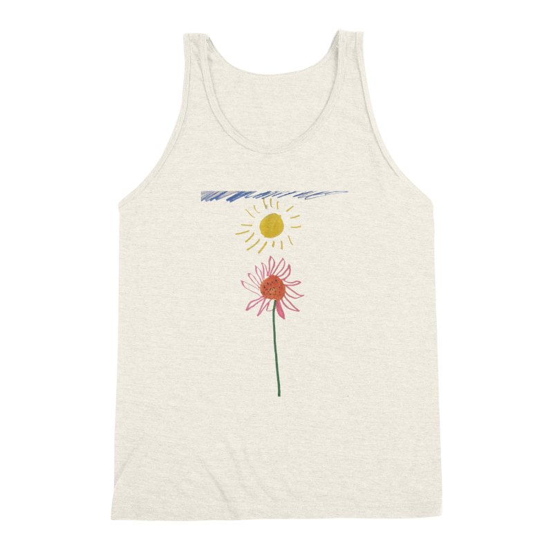 Tays - Reach For The Sky Men's Triblend Tank by Gabe and Taytay Artist Shop