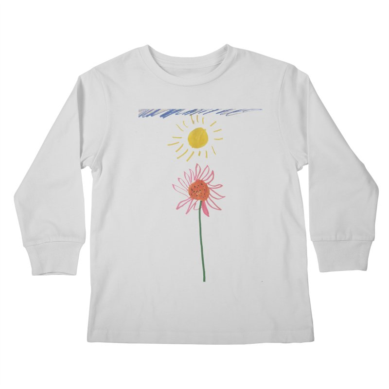 Tays - Reach For The Sky Kids Longsleeve T-Shirt by Gabe and Taytay Artist Shop