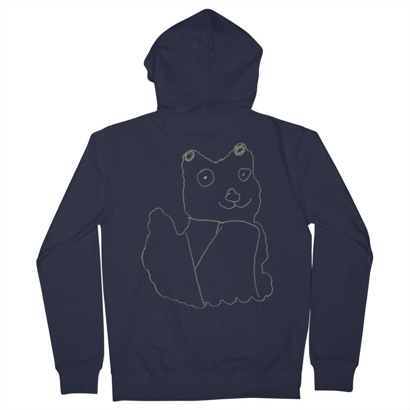 Cloud Gazing Women's French Terry Zip-Up Hoody by Gabe and Taytay Artist Shop