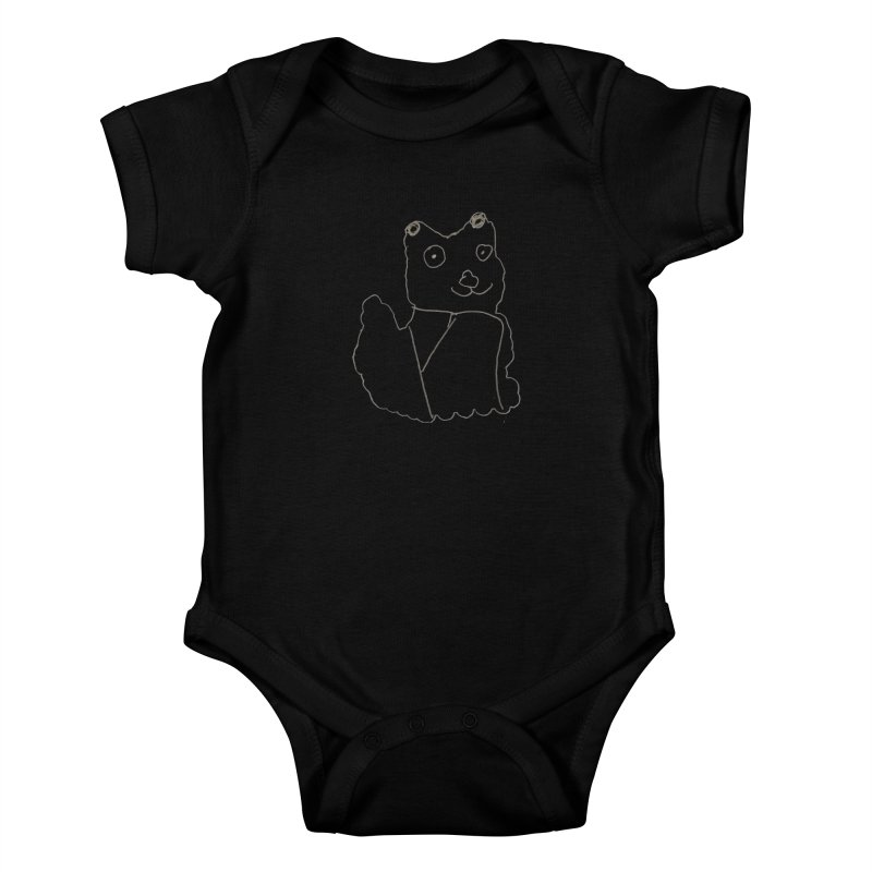 Cloud Gazing Kids Baby Bodysuit by Gabe and Taytay Artist Shop