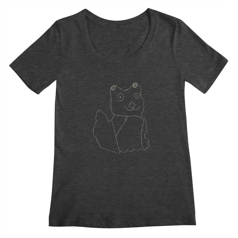 Cloud Gazing Women's Scoopneck by Gabe and Taytay Artist Shop
