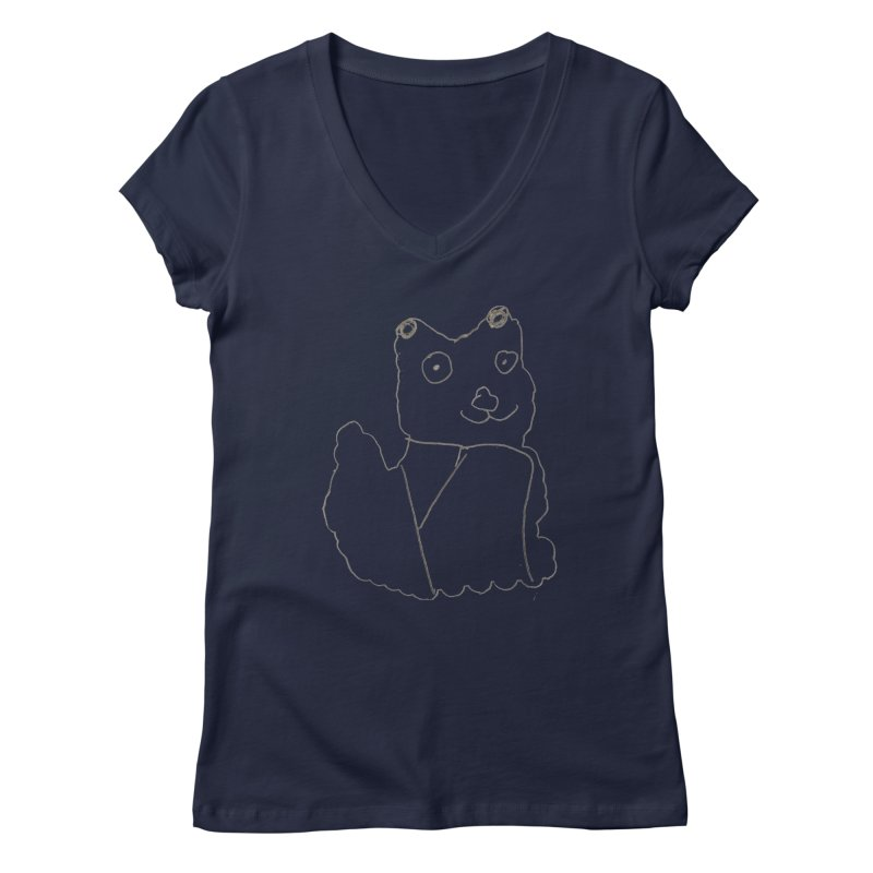 Cloud Gazing Women's V-Neck by Gabe and Taytay Artist Shop