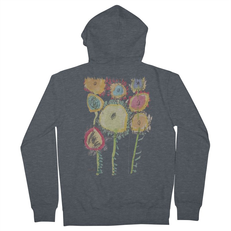Bouquet of Fleurs Women's Zip-Up Hoody by Gabe and Taytay Artist Shop