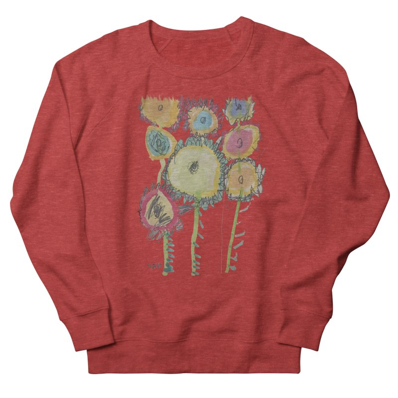 Bouquet of Fleurs Women's French Terry Sweatshirt by Gabe and Taytay Artist Shop