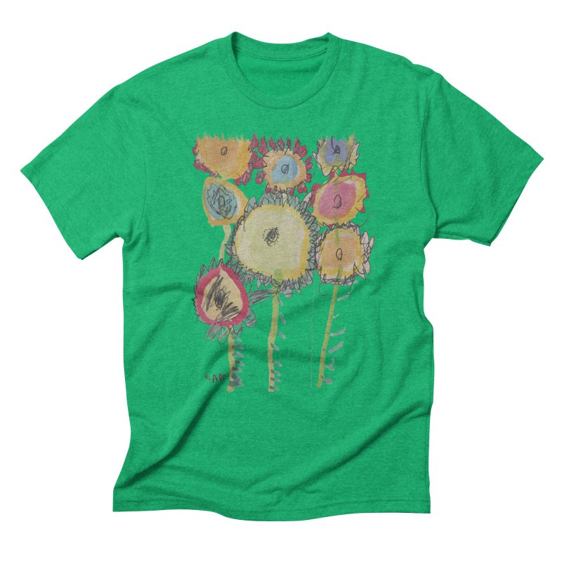 Bouquet of Fleurs Men's Triblend T-Shirt by Gabe and Taytay Artist Shop