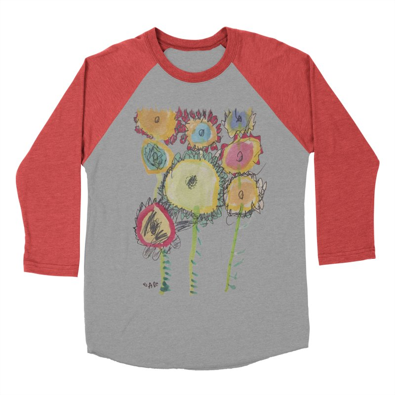 Bouquet of Fleurs Women's Baseball Triblend T-Shirt by Gabe and Taytay Artist Shop