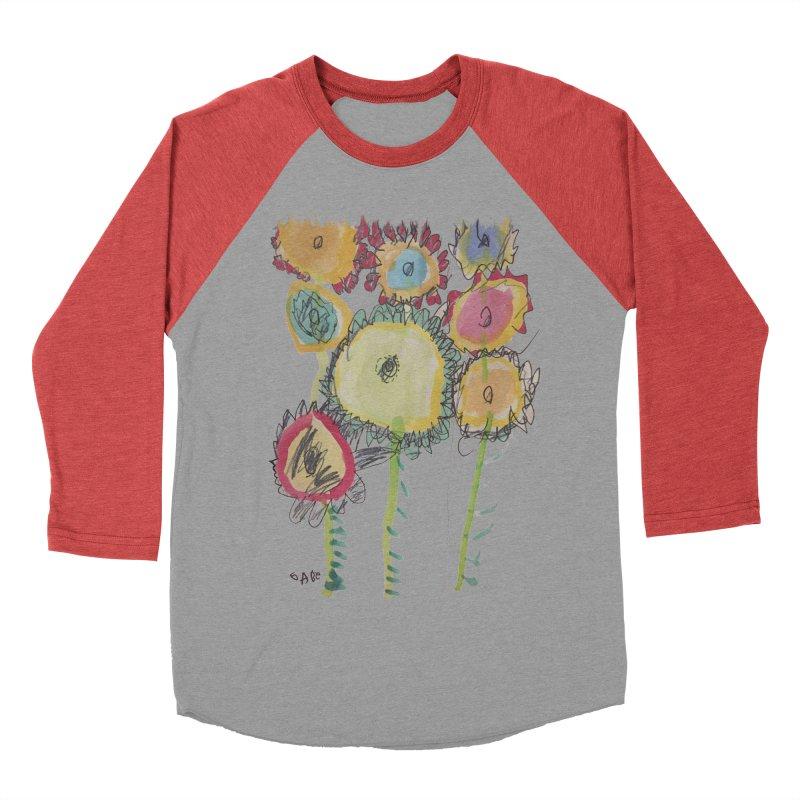 Bouquet of Fleurs Men's Baseball Triblend Longsleeve T-Shirt by Gabe and Taytay Artist Shop