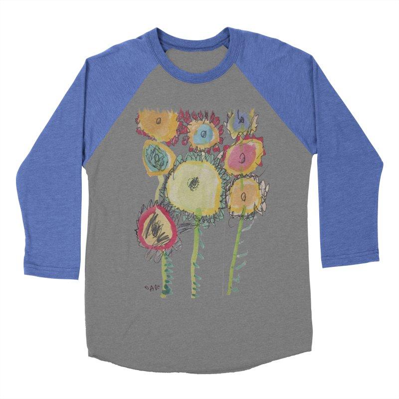 Bouquet of Fleurs Men's Baseball Triblend T-Shirt by Gabe and Taytay Artist Shop