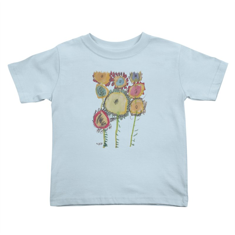 Bouquet of Fleurs Kids Toddler T-Shirt by Gabe and Taytay Artist Shop