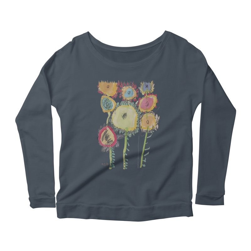 Bouquet of Fleurs Women's Scoop Neck Longsleeve T-Shirt by Gabe and Taytay Artist Shop