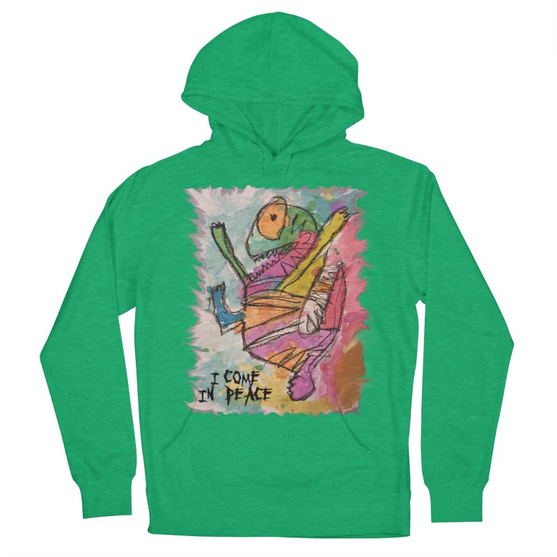 I Come in Peace Monster - Gabe Women's Pullover Hoody by Gabe and Taytay Artist Shop