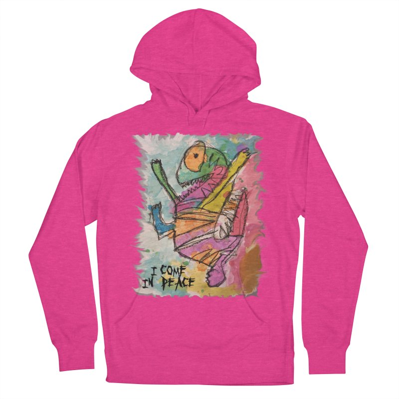 I Come in Peace Monster - Gabe Men's Pullover Hoody by Gabe and Taytay Artist Shop